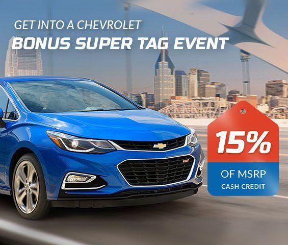Chevrolet Bonus Tag Event